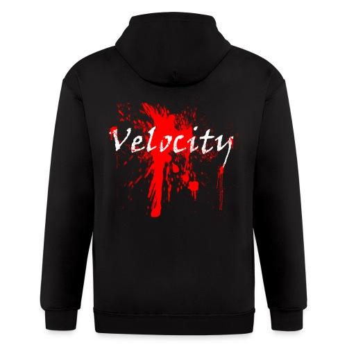 Velocity Bleeding Hoodie - Men's Zip Hoodie