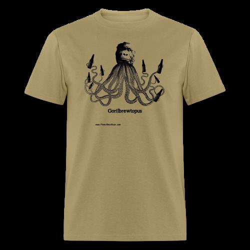 Gorilbrewtopus Men's T-Shirt - Men's T-Shirt