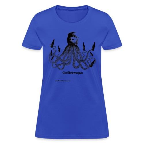 Gorilbrewtopus  Womens T-Shirt - Women's T-Shirt