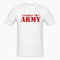 White Canadian Army Men