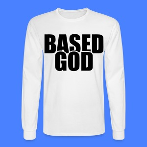 Based God Long Sleeve Shirts - stayflyclothing.com - Men's Long Sleeve T-Shirt