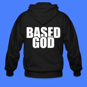 Based God Zip Hoodies/Jackets - stayflyclothing.com - Men's Zip Hoodie