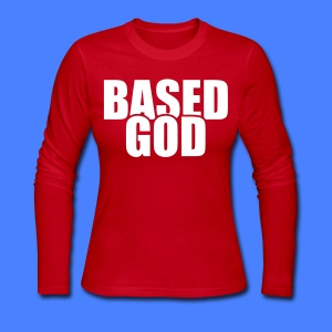 Based God Long Sleeve Shirts - stayflyclothing.com - Women's Long Sleeve Jersey T-Shirt