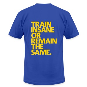 Mens DPM One Train Insane - Men's T-Shirt by American Apparel