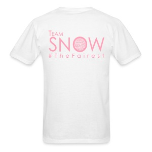 #TeamSnow - #TheFairest - PINK INK - Men's standard weight T - Men's T-Shirt