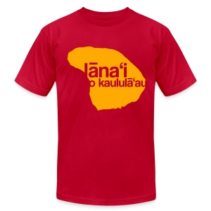 Lanai a Kaululaau - Men's Fine Jersey T-Shirt