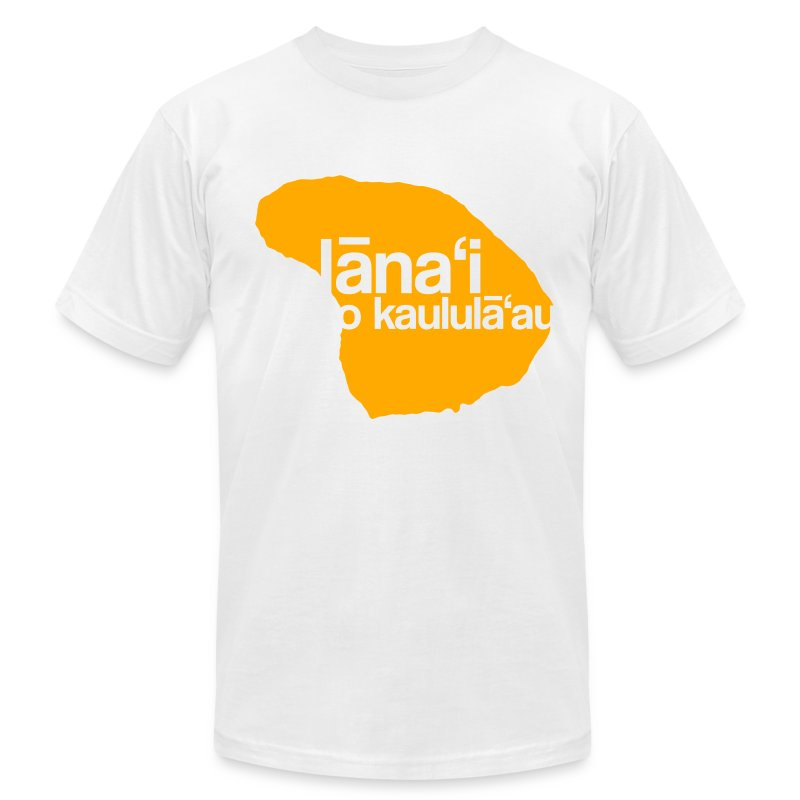 Lanai a Kaululaau - Men's T-Shirt by American Apparel