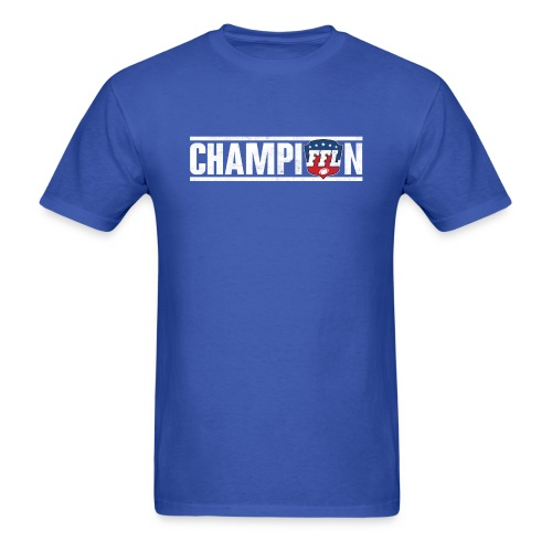 FANTASY FOOTBALL CHAMPION - Men's T-Shirt