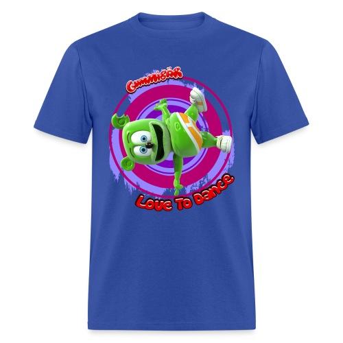 Gummibär (The Gummy Bear) Love To Dance Men's T-Shirt - Men's T-Shirt