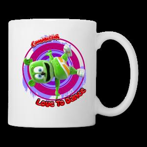 Gummibär (The Gummy Bear) Love To Dance Gummibär Mug - Coffee/Tea Mug