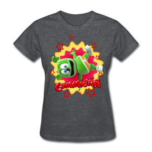 Gummibär (The Gummy Bear) Starburst Ladies Standard Weight T-Shirt - Women's T-Shirt