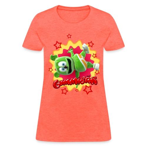 Gummibär (The Gummy Bear) Starburst Ladies Standard Weight T-Shirt - Women's T-Shirt