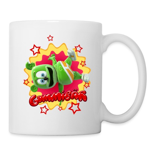 Gummibär (The Gummy Bear) Starburst Mug - Coffee/Tea Mug