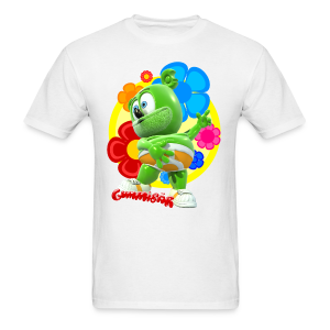 Gummibär (The Gummy Bear)  Fun Flowers Men's Standard T-Shirt - Men's T-Shirt