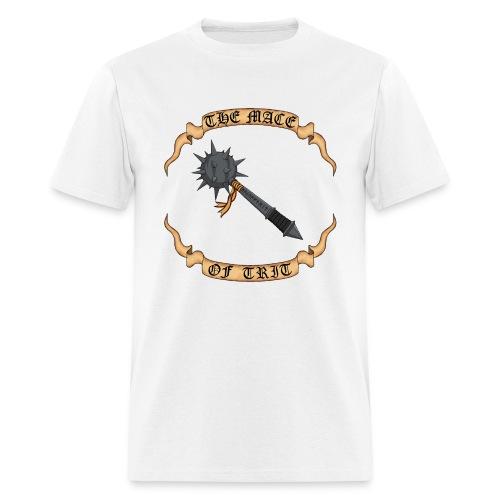 Mace of Trit White - Men's T-Shirt