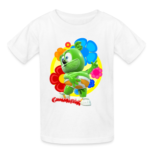 Gummibär (The Gummy Bear) Fun Flowers Kids T-Shirt - Kids' T-Shirt