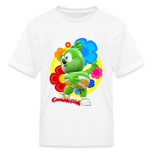 Gummibär (The Gummy Bear) Fun Flowers Kids T-Shirt - Kids' T-Shirt