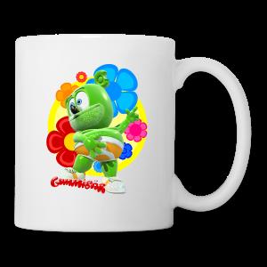 Gummibär (The Gummy Bear) Fun Flowers Mug - Coffee/Tea Mug