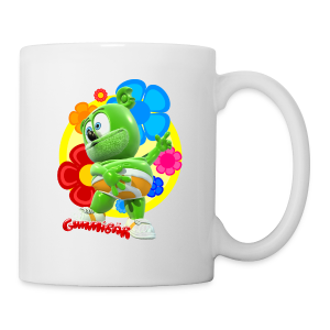 Gummibär (The Gummy Bear) Fun Flowers Mug - Coffee/Tea Mug