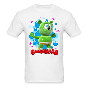 Gummibär (The Gummy Bear) Bubbles Mens T-Shirt - Men's T-Shirt