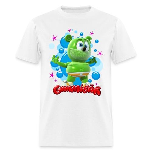 Gummibär (The Gummy Bear) Bubbles Mens T-Shirt - Men's T-Shirt