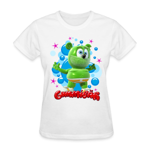 Gummibär (The Gummy Bear) Bubbles Ladies Standard T-Shirt - Women's T-Shirt