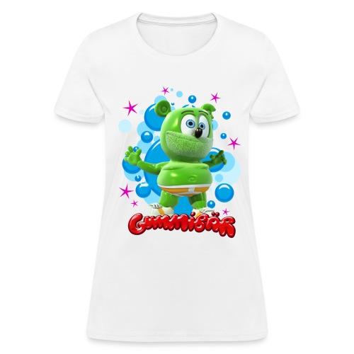 Gummibär (The Gummy Bear) Bubbles Ladies Standard T-Shirt - Women's T-Shirt