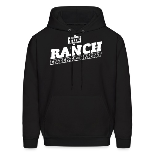 Original Men's Hoodie 1 White on Black - Men's Hoodie
