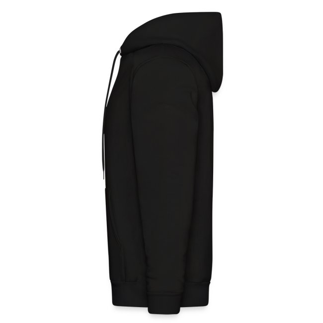 Original Men's Hoodie 1 White on Black