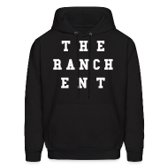 Hoodies ~ Men's Hoodie ~ Original Men's Hoodie 3 White on Black