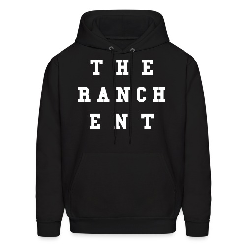 Original Men's Hoodie 3 White on Black - Men's Hoodie