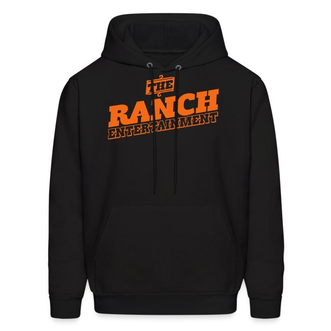 Original Men's Hoodie 1 Orange on Black
