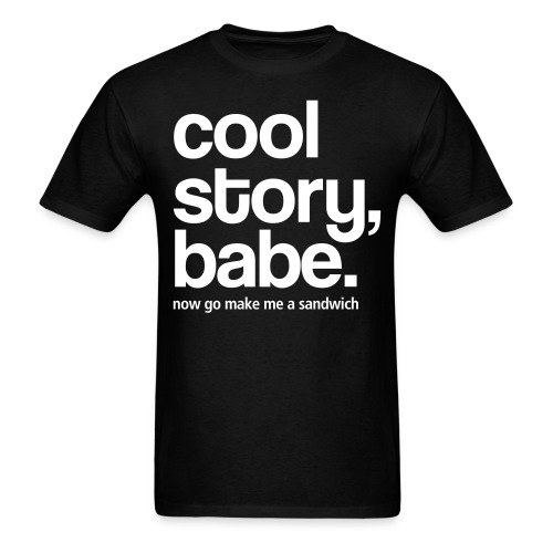 Cool Story... - Men's T-Shirt