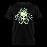 T-Shirts ~ Men's T-Shirt ~ ALIEN CAVE BASE TASK FORCE COMBAT SHIRT