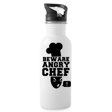 BEWARE angry CHEF! with a speech bubble ! Accessories