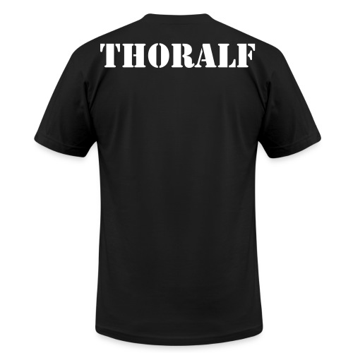 Logo tee with customable name on back. - Men's  Jersey T-Shirt