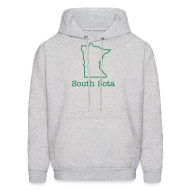 Hoodies ~ Men's Hoodie ~ South Sota MN