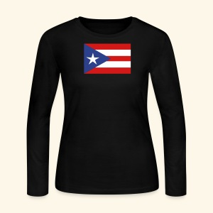 Porto Rico tee shirt - Women's Long Sleeve Jersey T-Shirt