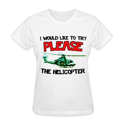 Womancopter - Women's T-Shirt