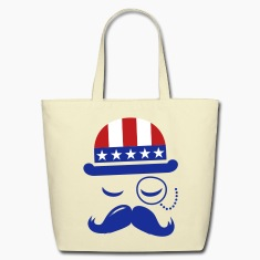 I love American Sir with USA  flag for sports olympics championship and election vote America t-shirts Bags