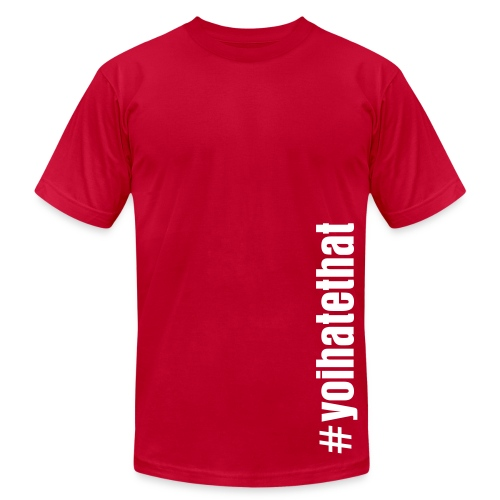 the HASHTAG. - Men's Fine Jersey T-Shirt