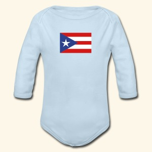 Baby Long Sleeve One Piece Porto Rico - Long Sleeve Baby Bodysuit