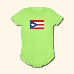 Baby Short Sleeve One Piece Porto Rico - Short Sleeve Baby Bodysuit