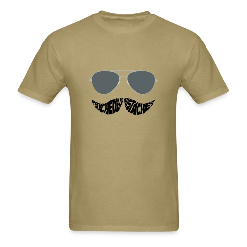 The Psychedelic Mustaches - Men's T-Shirt