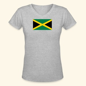 Jamaica  tee shirts - Women's V-Neck T-Shirt