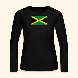 Jamaica  tee shirts - Women's Long Sleeve Jersey T-Shirt