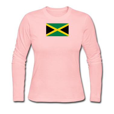 flag of Jamaica Long Sleeve Shirts
