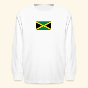 Jamaica kids products - Kids' Long Sleeve T-Shirt
