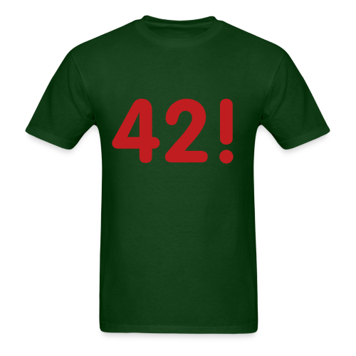 42 green/red - Men's T-Shirt