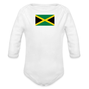 Jamaica baby products - Long Sleeve Baby Bodysuit